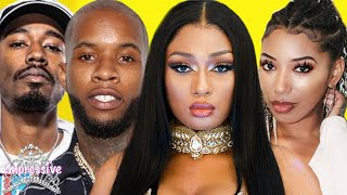 """Megan Thee Stallion's friends """"hint"""" that Tory Lanez targeted her 