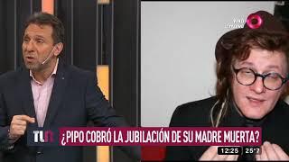 ¿Pipo Cipolatti va preso? Cobró la jubilación de su madre muerta YouTube Videos