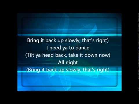 Tilt Ya Head Back Lyrics