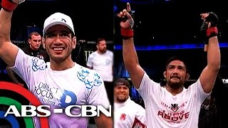 TV Patrol: Dalawang Pinoy, wagi sa UFC Fight Night: Manila