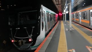 東急2020系 甲種輸送 日野駅通過