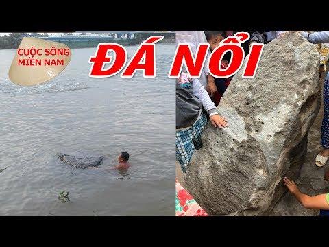 Đá Nổi Trên Mặt Nước phát hiện ở miền tây   Nam Việt