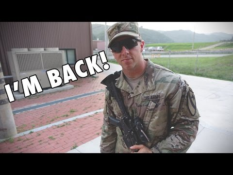 Back From The Field | Army Training Vlog