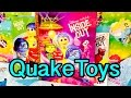 QuakeToys Story Time Disney Pixar Inside Out Movie Book Joy Sadness Anger Disgust Fear Bing Bong!