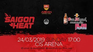 ABL9 || Home - Game 26: Saigon Heat vs San Miguel Alab Pilipinas 24/03 | Full Game Replay