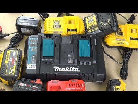 Зарядное Makita US DC18RD, АКБ и еще