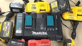 Зарядний Makita US DC18RD, АКБ і ще
