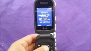 Lg 450 Flip Phone Unboxing And Review For Metro Pcs Youtube