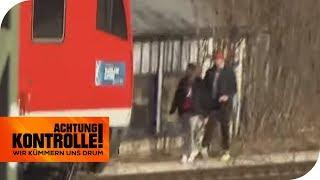 LEBENSGEFAHR! Personen auf den Gleisen | Achtung Kontrolle | kabel eins