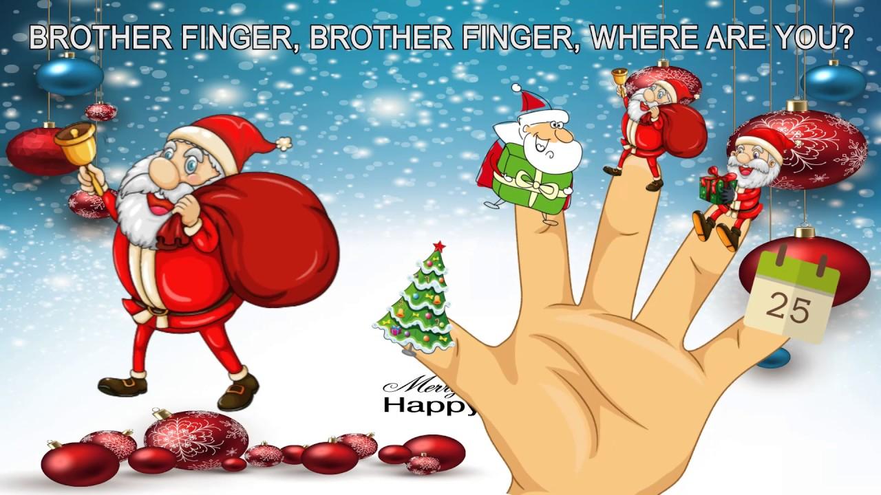 Santa Claus Happy Merry Christmas Finger Family Kids Song | Kids Song For Dance - YouTube