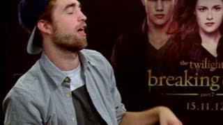 Robert Pattinson's sex face in Twilight Breaking Dawn Pt 2