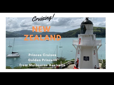 Melbourne To New Zealand By Cruise Ship Golden Princess