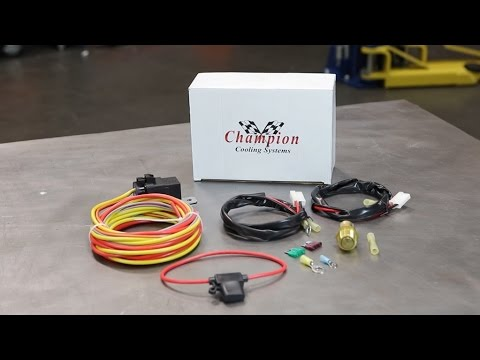 champion radiators: how to install an electric fan relay in a vehicle