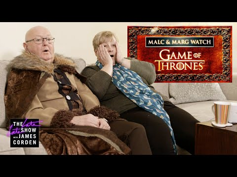 Wendy Wild - James Corden's Parents Watch 'Game Of Thrones' For The First Time