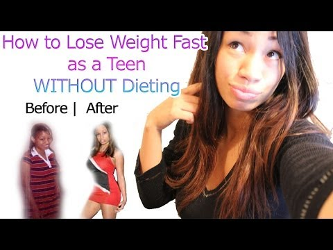 How to Lose Weight Fast for Teenagers without Dieting