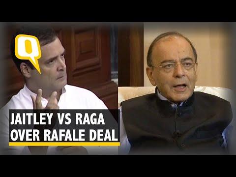 Arun Jaitley Responds to Rahul Gandhi's Allegations on Rafale Deal
