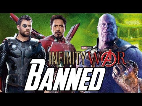 Avengers Infinity War Banned in Some Countries Explained Hindi