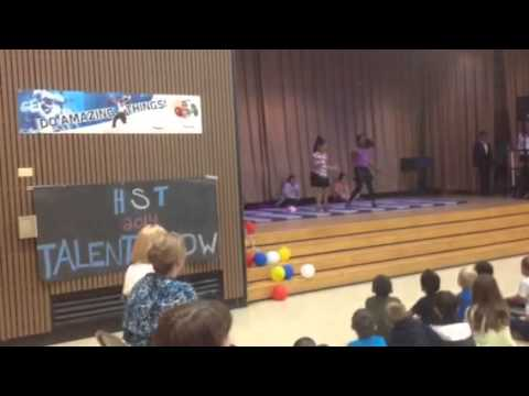 Bryiah & Amy's Talent Show Performance 2014