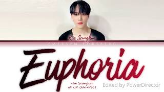 Download Lagu Kim Seunghun - CIX (씨아이엑스) - 'Euphoria' by Jungkook - BTS (Cover) [Color Coded Lyrics - Han|Rom|Eng] mp3