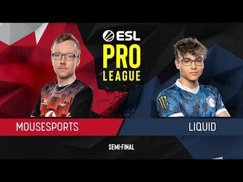 CS:GO - Mousesports Vs. Liquid [Nuke] Map 2 -  Semi-Final -  ESL Pro League Season 9