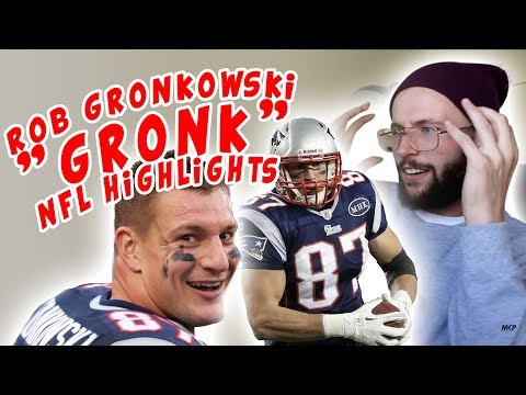 """Rugby Player Reacts to ROB GRONKOWSKI """"Gronk"""" NFL Highlights YouTube Video"""