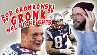 Rugby Player Reacts to ROB GRONKOWSKI