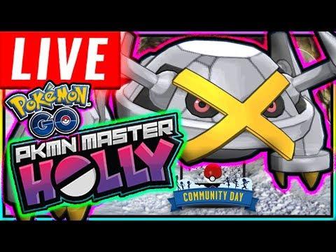 LIVE: SHINY BELDUM COMMUNITY DAY POKÉMON GO!