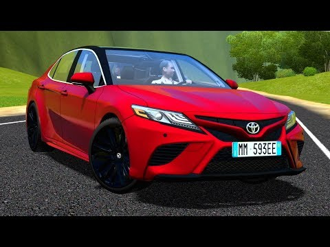 City Car Driving 1 5 Toyota Camry 2018 G27 Hd 1080p