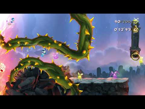 Rayman Legends (X360) LotLD: Grab them quickly! (Daily Extreme Challenge, 24/09/2017)
