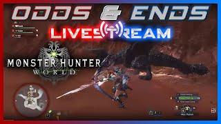 Monster Hunter World  - Odds & Ends Gaming Live Stream - 01/16/2019
