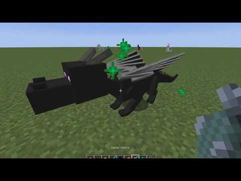 Как в майнкрафте приручить дракона и полетать на нем