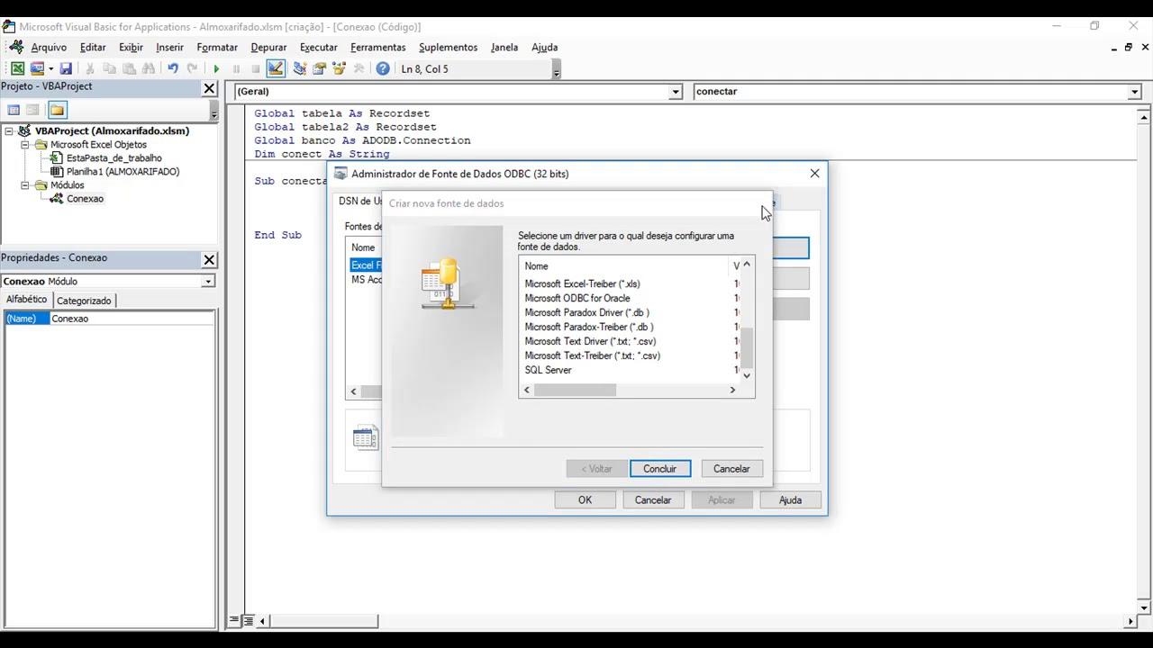 Excel vba oracle client