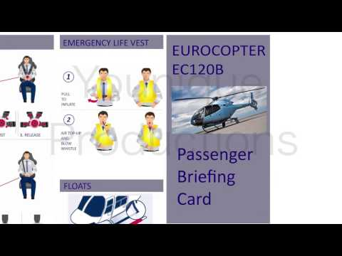 Helicopter safety video