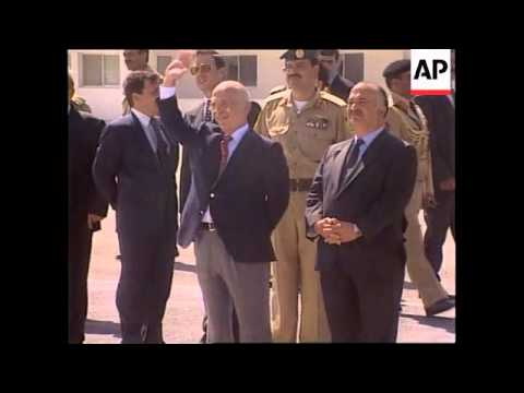 JORDAN: KING HUSSEIN'S SON ABDULLAH FUTURE HEIR TO THRONE