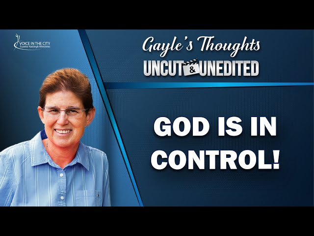 God is in control! | EP29