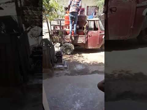 Demand extra money HP GAS delivery boy