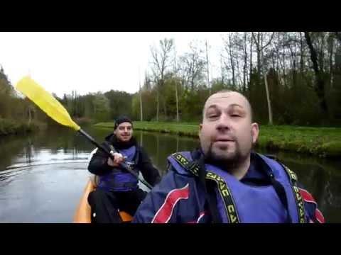 [Rando] Deux jours de canoë sur le canal de l'Ourcq