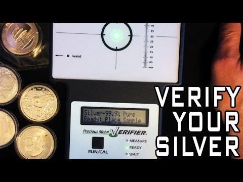Using The Precious Metals Verifier To Test Silver Pandas