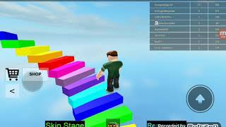 Jogando the really eas obby no Roblox