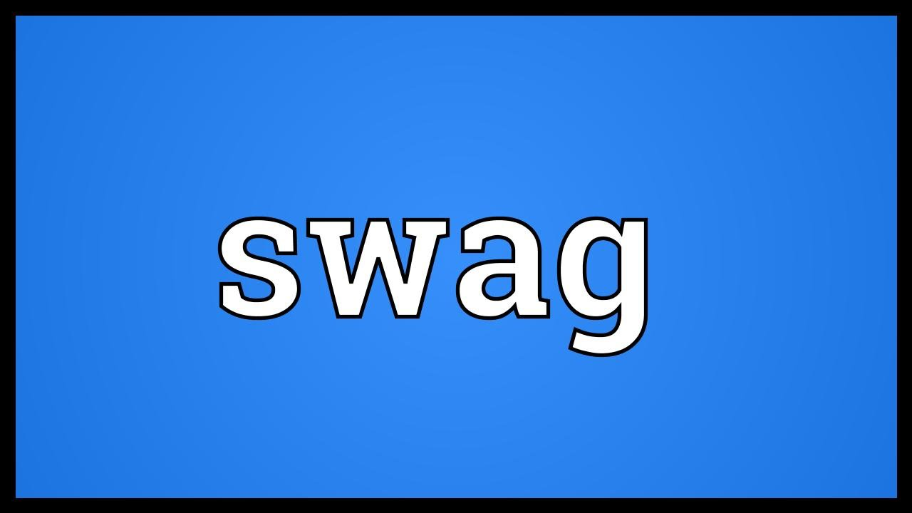 Image result for swag meaning images