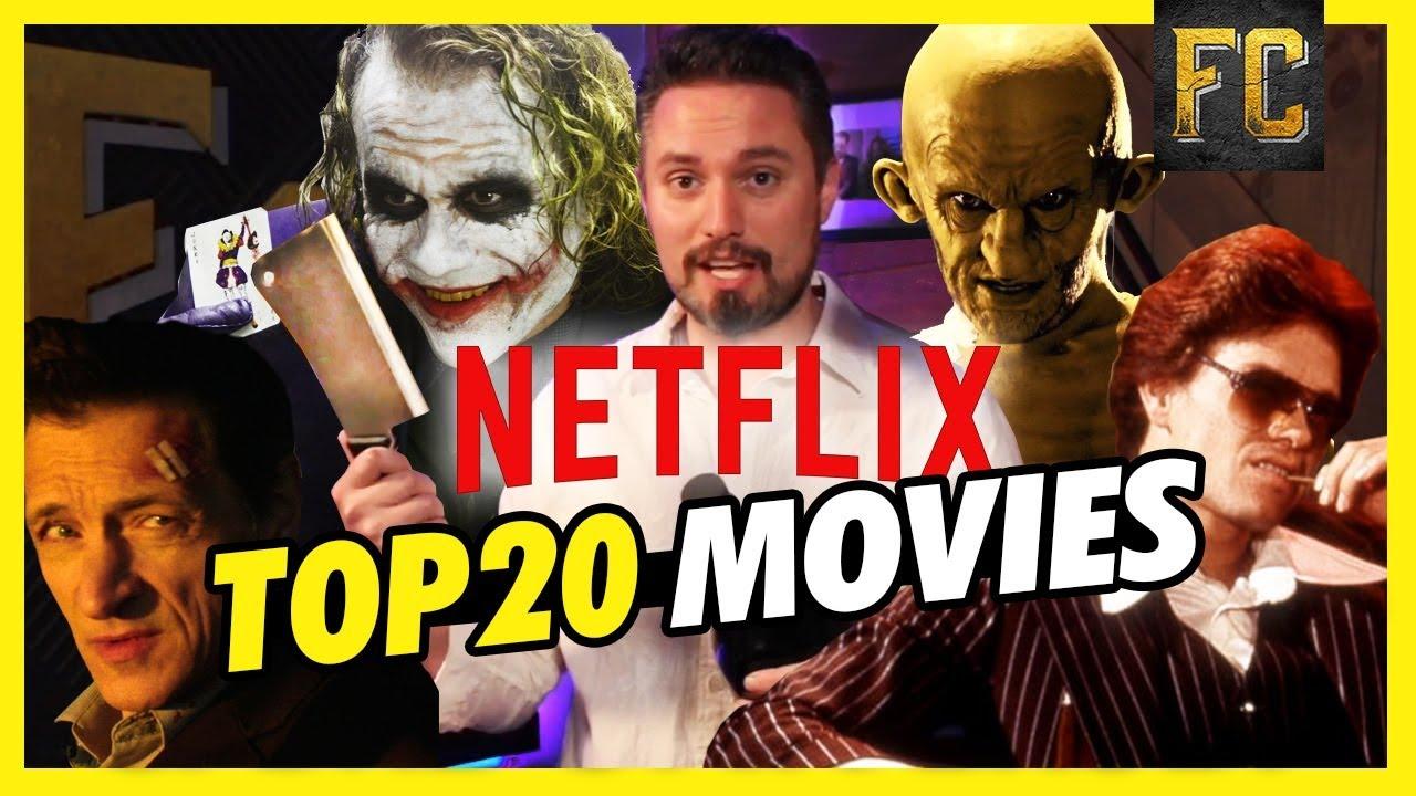 top 20 movies on netflix