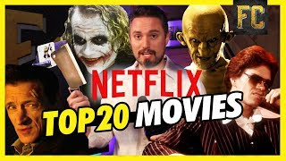 My 20 Favorite Movies on Netflix Right Now: (Ft. Flesh Wounds & SpaghettiOs) | Flick Connection