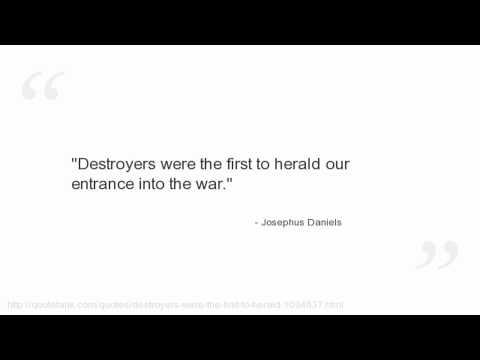 Josephus Daniels Quotes