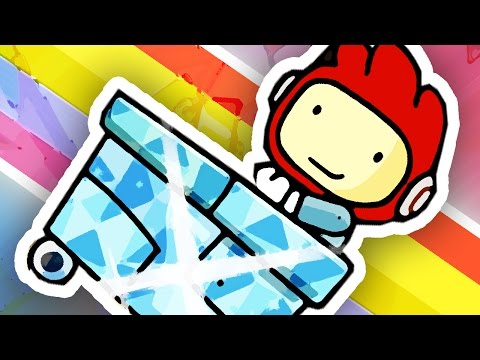 Thumbnail: THE DIAMOND MINECART!!! | Scribblenauts Unlimited #10