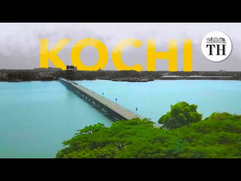 Drone video of Kochi under lockdown