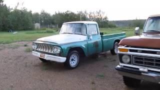 1962 International Harvester Start Up