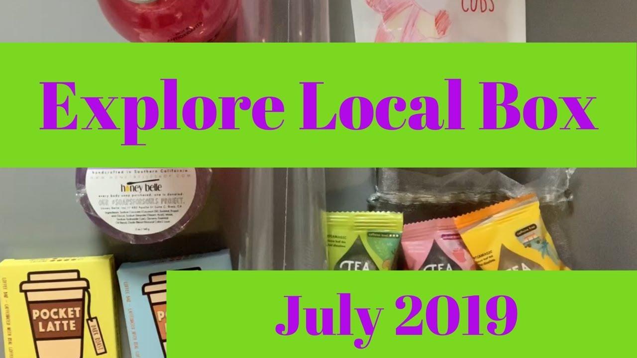 New Explore Local Box July 2019