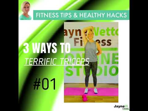 TONE YOUR TRICEPS IN 5 MINS