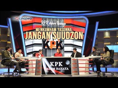 Mata Najwa Part 1 - KPK Dalam Bahaya: Menkumham Yasonna: Jangan Suudzon