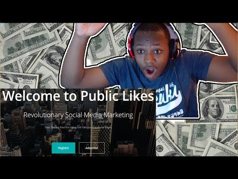 HOW TO EARN  MONEY ONLINE FROM PUBLIC LIKES 100% LEGIT!!!!